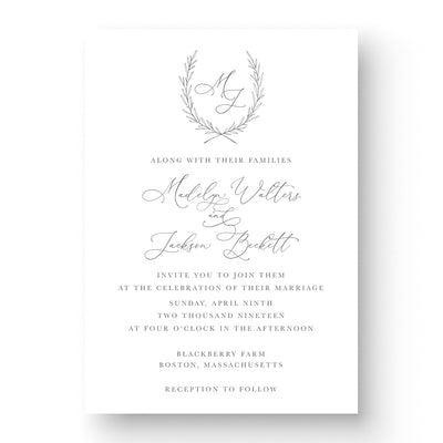 Madelyn Wedding Invitation