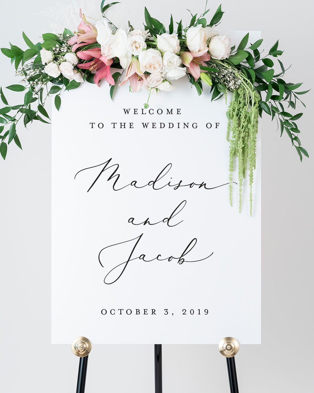 Welcome to our wedding sign welcome to wedding sign wedding easel gold welcome to our wedding sign welcome to our wedding signs welcome to