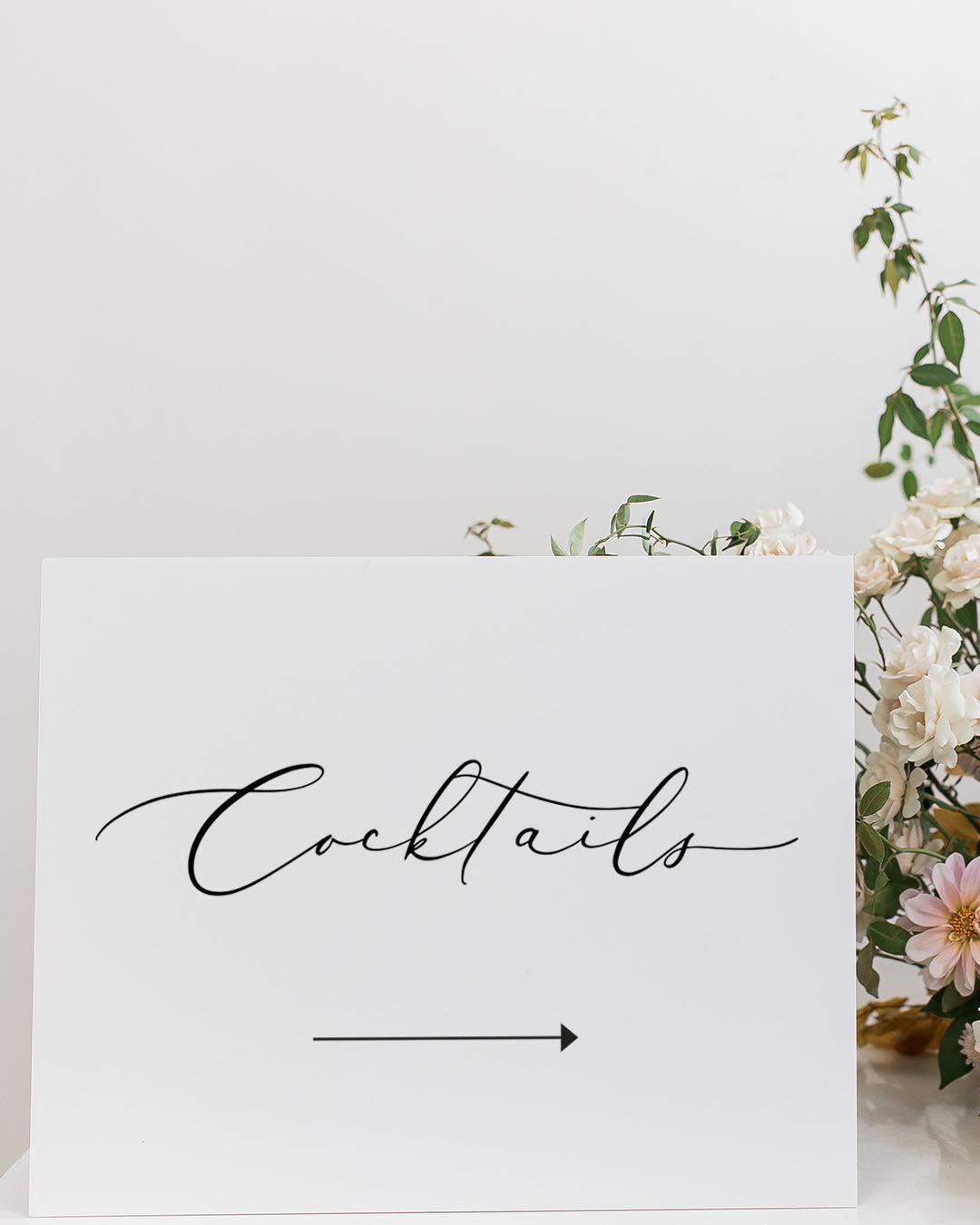Elegant Wedding Directional Signs | The Madison