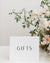 Simple Wedding Table Signs | The Meaghan