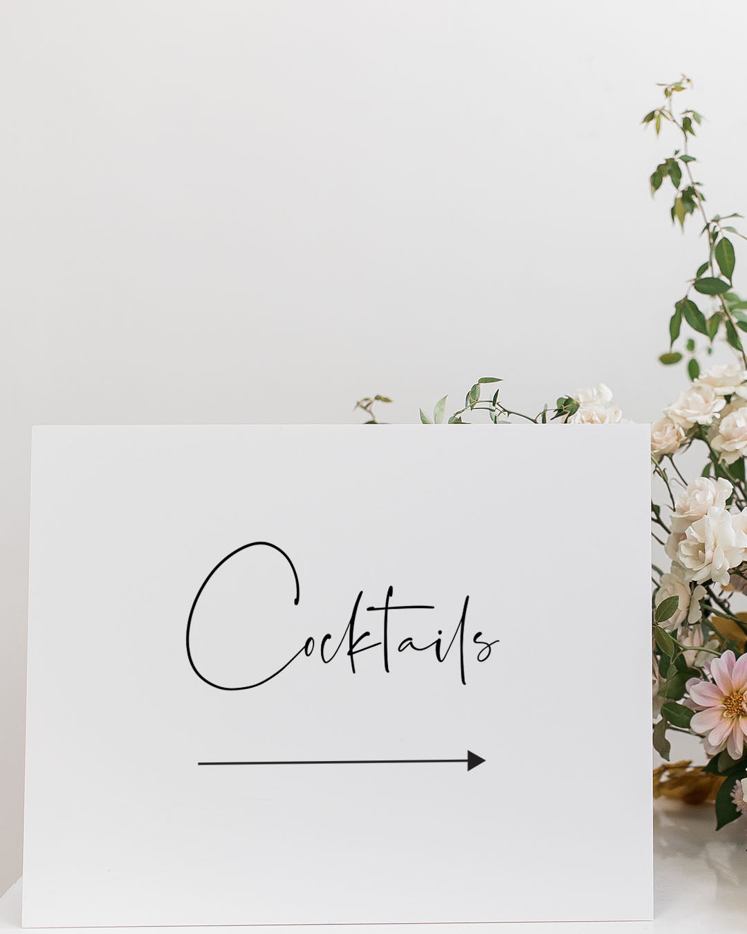 Wedding Directional Signage | The Skylar