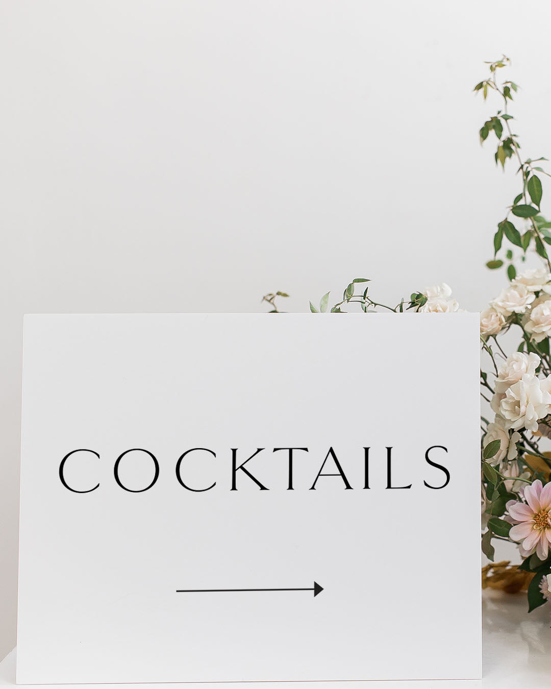 Directional Signage Wedding Arrow Signs | The Winter