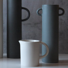 Tone 3 Cylindrical Vases With Handles