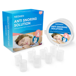 Stop Snoring Nose Vents, Comfortable Anti Snore Solution Neomen®
