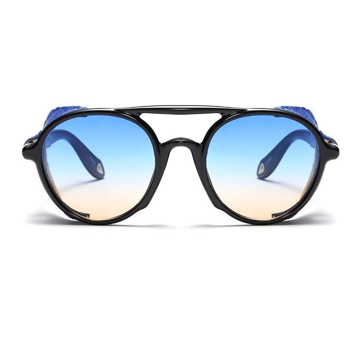 """The Wasteland Wanderer"" Retro Aviator Sunglasses-Victor Plazma"