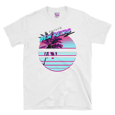 New Retro Graphic Tee-Victor Plazma