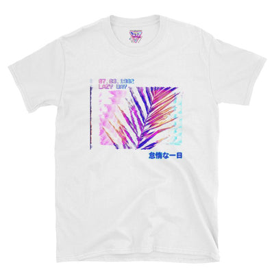 Lazy Day Graphic Tee-Victor Plazma