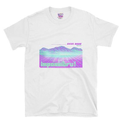 Over 9000 Graphic Tee-Victor Plazma