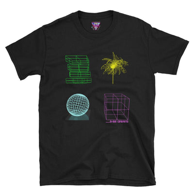 8-Bit Dreams Graphic Tee-Victor Plazma