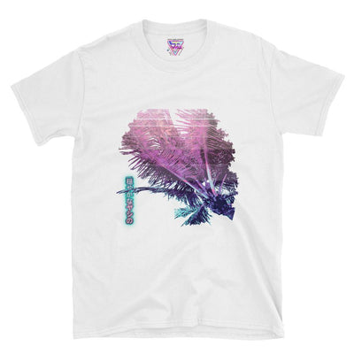 Calm Palms Graphic Tee-Victor Plazma