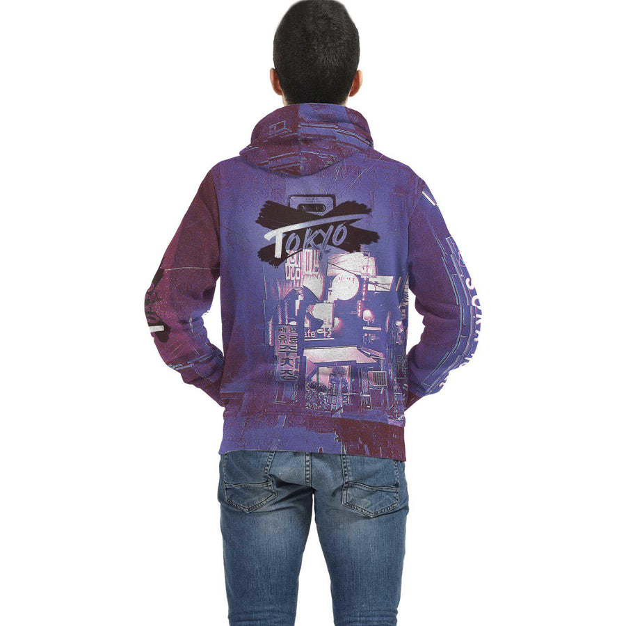Itabashi Handcrafted Hoodie [Retro Street Series]