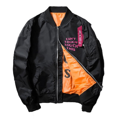 MA-1 Synth Beast Light Bomber Jacket-Victor Plazma