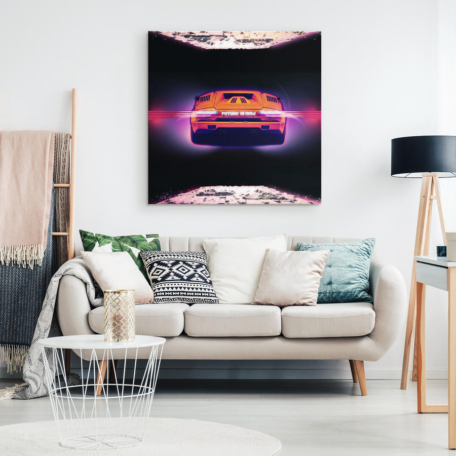 Future Is Now Canvas Wall Art