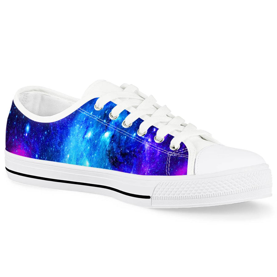 Icy Way - White Low Top Canvas Shoes
