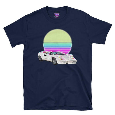 Countach Outrun Graphic Tee-Victor Plazma