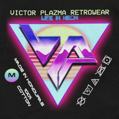 Moonwave Graphic Tee-Victor Plazma