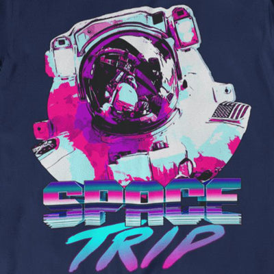Space Trip Graphic Tee-Victor Plazma
