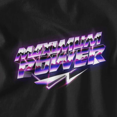 Maximum Power Graphic Tee-Victor Plazma