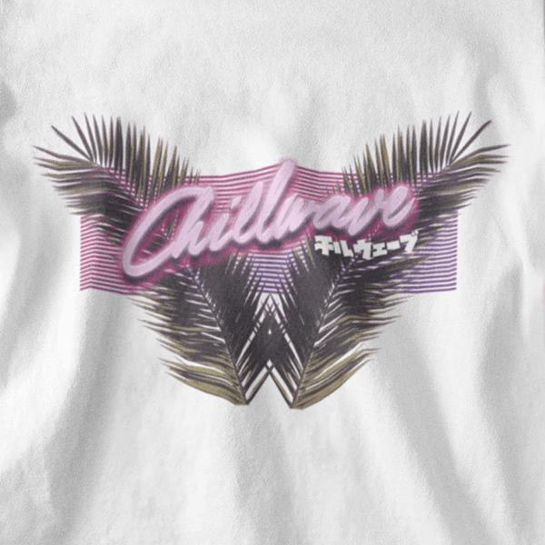 Chillwave Graphic Tee-Victor Plazma