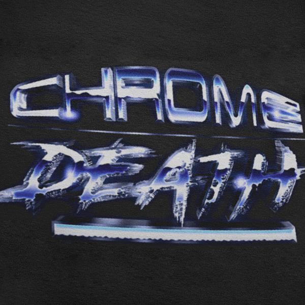 Chrome Death Graphic Tee