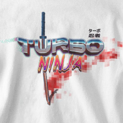 Turbo Ninja Graphic Tee-Victor Plazma