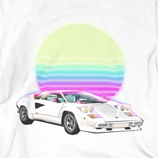 Countach Outrun Graphic Tee