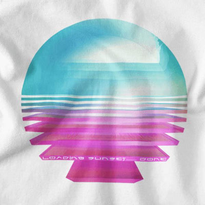 Loading Sunset... Done Graphic Tee-Victor Plazma