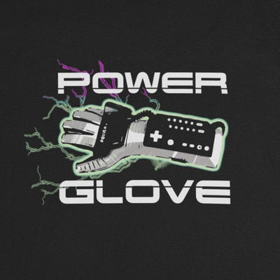 Power Glove Graphic Tee-Victor Plazma