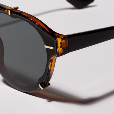 """The Deckard"" Retro Aviator Sunglasses-Victor Plazma"