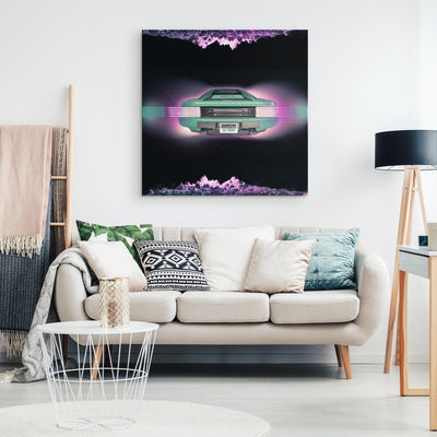 Future Is Here Canvas Wall Art-Victor Plazma