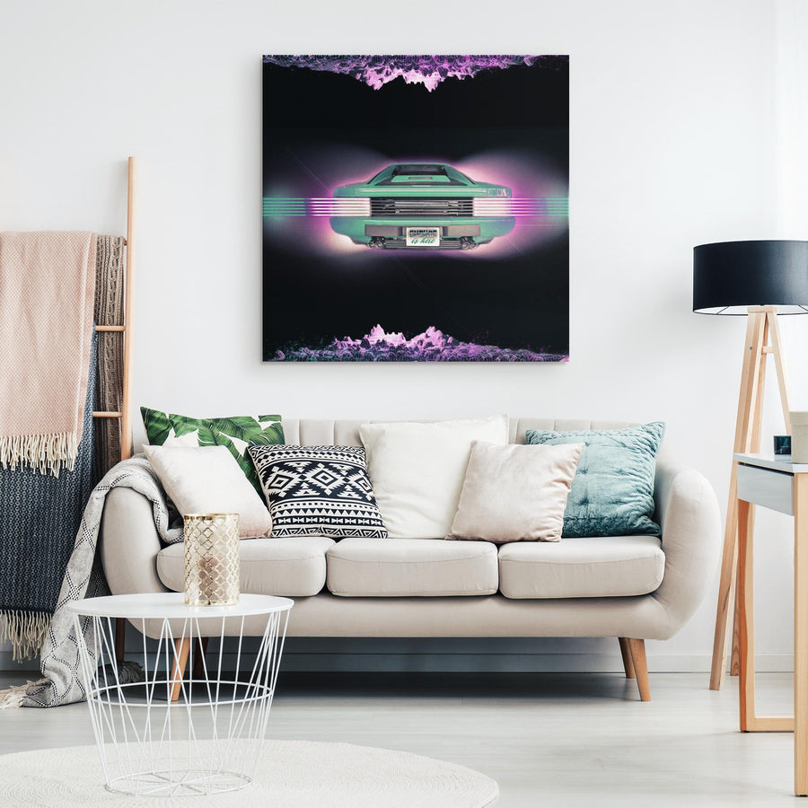 Future Is Here Canvas Wall Art