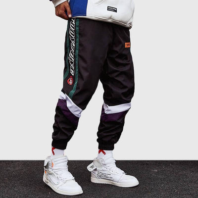 1990s Style Break Joggers-Victor Plazma