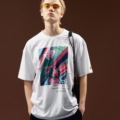 Aesthetics Dilemma Graphic Tee-Victor Plazma