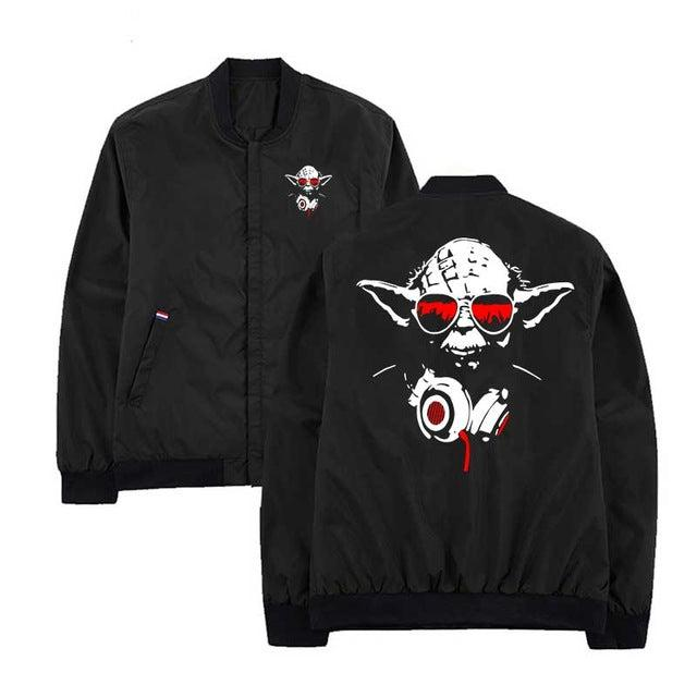 MA-1 Yodawave Light Bomber Jacket-Victor Plazma