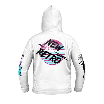 New Retro Zip Up Premium Hoodie-Victor Plazma