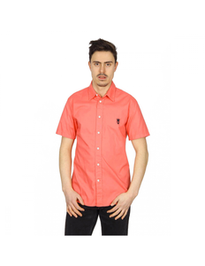 Marc Jacobs mens shirt short sleeve S84DL0197 S42594 253: Marc Jacobs mens shirt short sleeve S84DL0197 S42594 253 Coral 48 EUR - M
