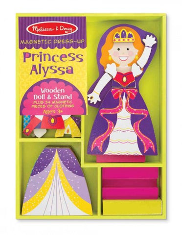 Princess Alyssa - Magnetic Dress Up (Melissa & Doug)