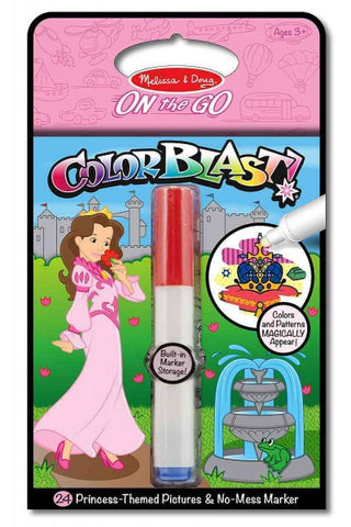 Colorblast! Princess (Melissa & Doug On the Go)