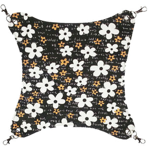 Pet Supplies Cat Beds Cat Hammock Cat Furniture 45 X 45 CM- Flower Black