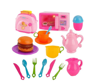 Plastic Set of Kitchen Baby Educational Toy Pretend Toy