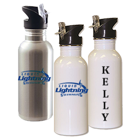 Liquid Lightning - Water Bottle - Stainless Steel