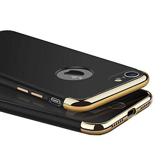 Etui noir 3 en 1 Apple iPhone 7