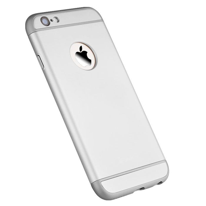 Housse en argent 3 en 1 Apple iPhone 6/6S