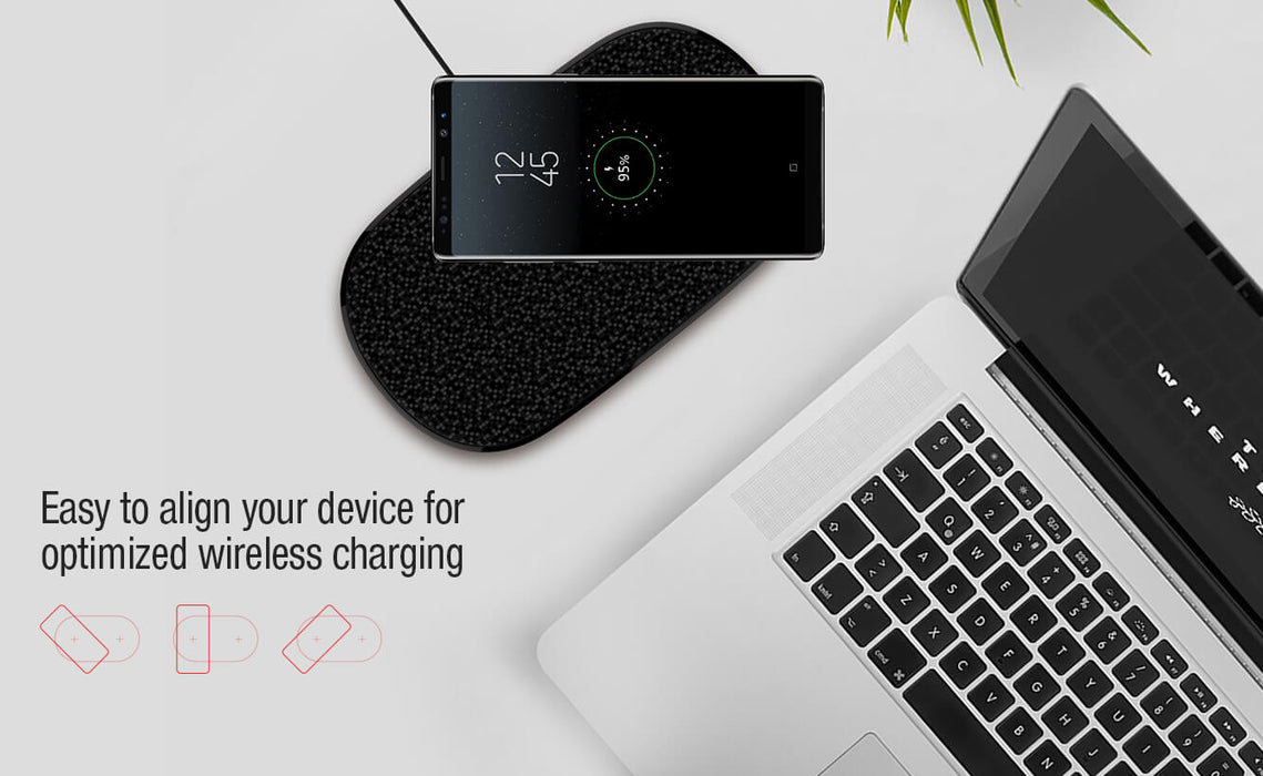 NILLKIN Double shadows dual fast wireless charging pad