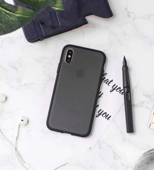 Etui noir Apple iPhone XS Max