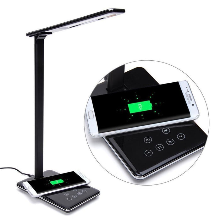 Chargeur sans fil LED Touch desk Lamp