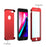 Coque rouge Apple iPhone 7 360