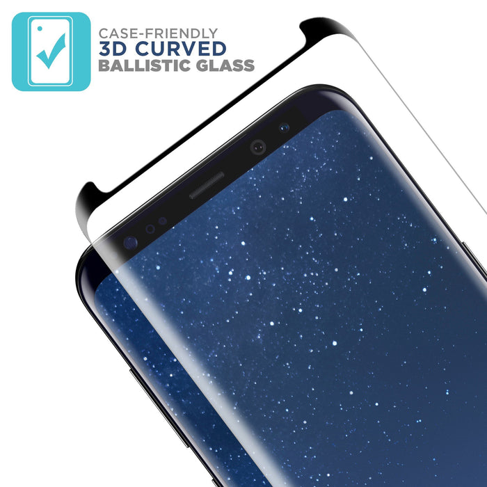 Protecteur d'écran Samsung Galaxy S8 + Case Friendly Cover