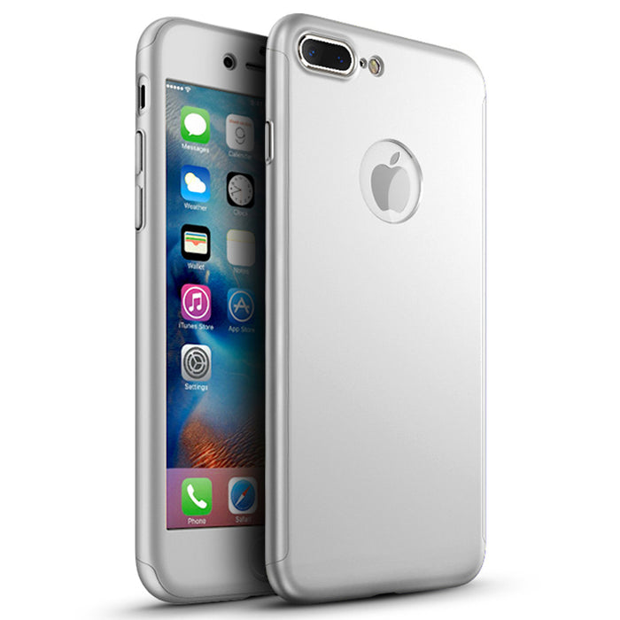 Etui en argent Apple iPhone 7 Plus 360