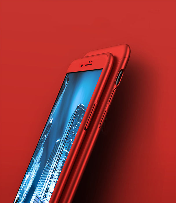coque rouge 360 iphone xr